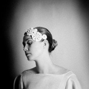 Klaire Van Elton Rhea Adorned Origami Headress