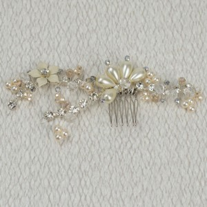 Beatrix - Entwined Beaded Branch Comb