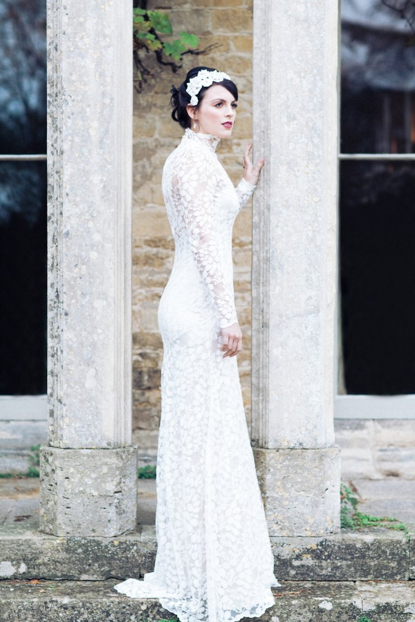 Honesty lace wedding dress