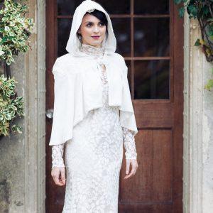 Honesty dress and velvet cape