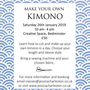 Make your own kimono